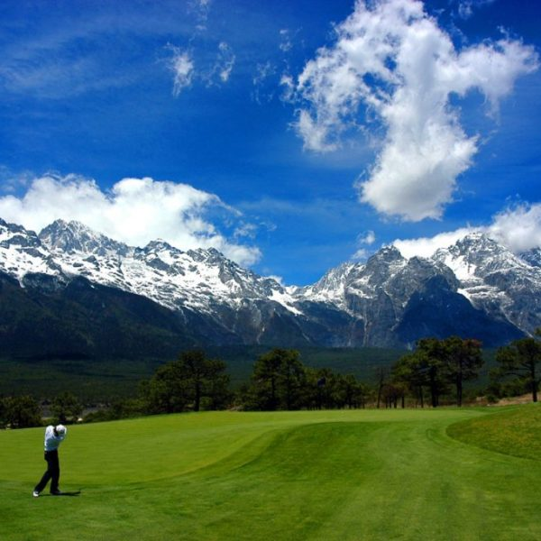 Jade Dragon Snow Mountain Golf of Lijiang