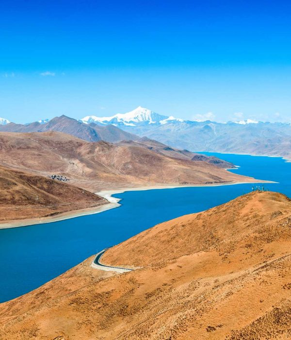 Yamtso Tso Lake of Tibet