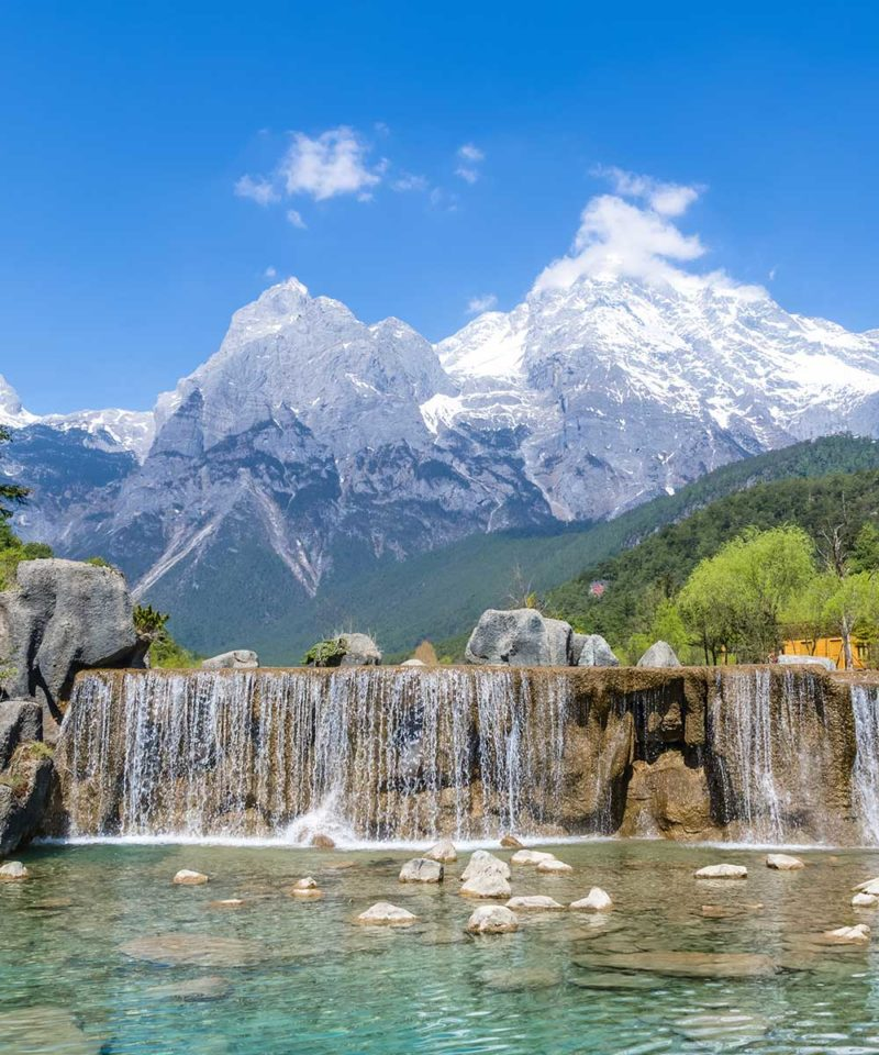 Jade Dragon Snow Mountain of Lijiang